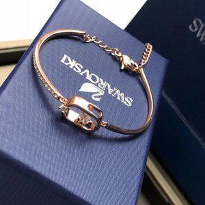 Swarovski Jewelry Rhodium Plated Bracelets